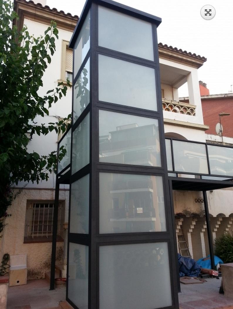 elevadores unifamiliares en vivienda