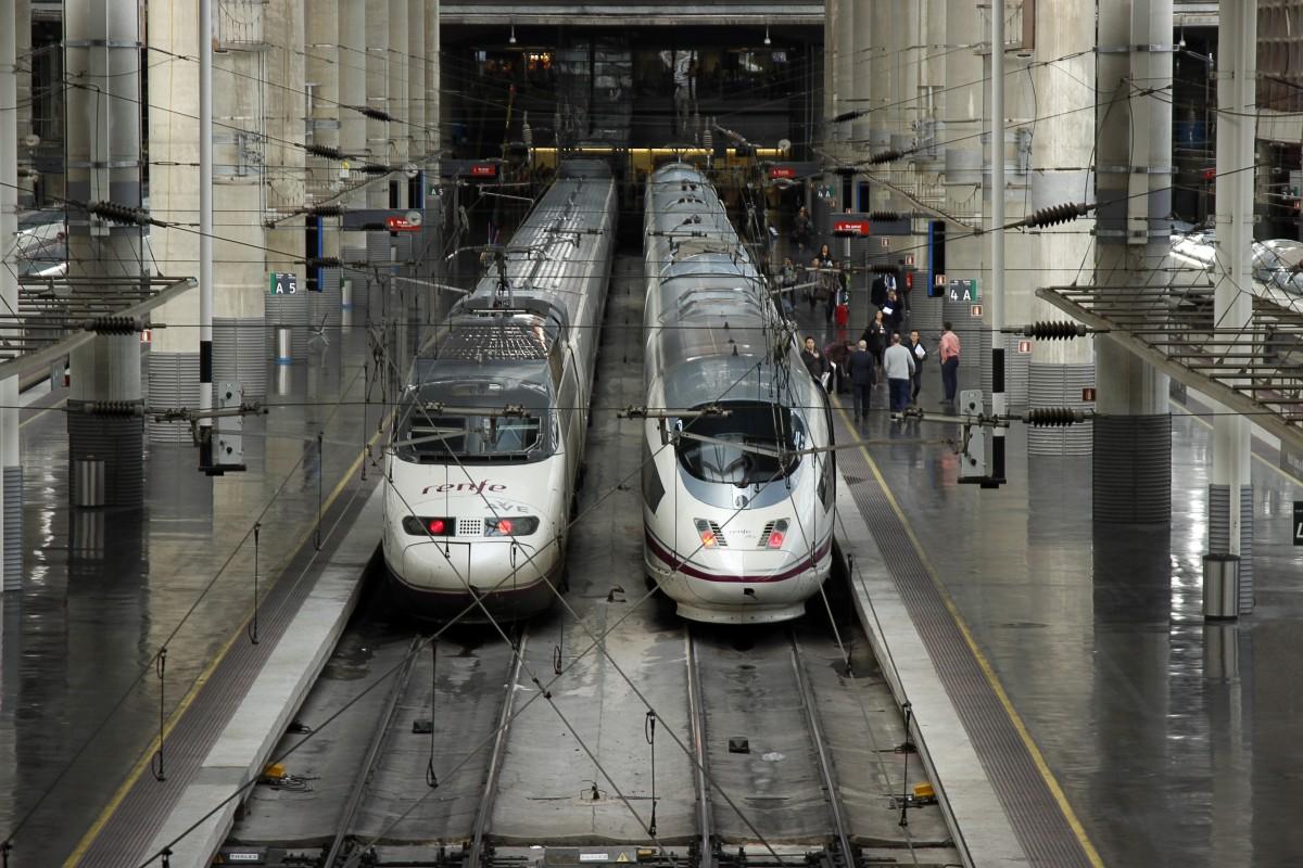 accesibilidad en la estación de Atocha